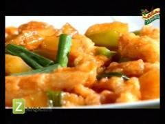 Chicken With Pineapple And Chinese Fish Toast By Kokab