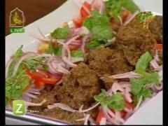 Bihari Kabab And Cheese Bbq Club Sandwiches By Chef Nadeem