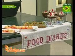 Dhaba Chicken Mousse Trifle And Strawberry Muffins By