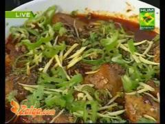 Chicken Dhaba Karahi Halwa And Classy Lemonade By Batool