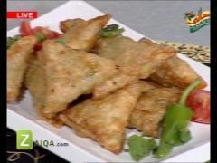 Sweet Corn Cheese Samosa By Rida Aftab Zaiqa