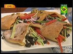 Pita Bread, Lahori Shawarma, Carrot Soup, Tahini Sauce And ...